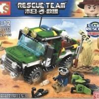Sembo SD 9552 Rescue Team Jeep Desert