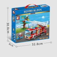 Sembo 603040 City Fire Frontline Truck