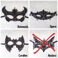 Topeng Pesta Natal Halloween Masquerade Party Lace Mask Valentine