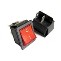 Saklar Switch On Off Merah Persegi Kotak Besar
