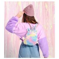 Tas ransel unicorn bulu TU003 backpack punggung anak sekolah fashion