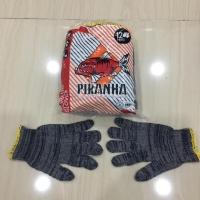 Sarung tangan kaos abu abu cap ikan