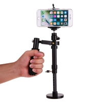 Stabilizer Steadycam for Smartphone Action Camera GoPro - S30 - Black