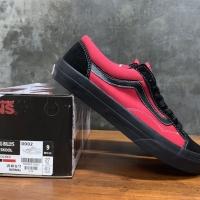 VANS V36OG BILLYS EXCLUSIVE JAPAN RED BLACK ORIGINAL