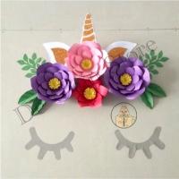 Paper Flowet Backdrop Unicorn - Dekorasi Ulang tahun dan Wedding