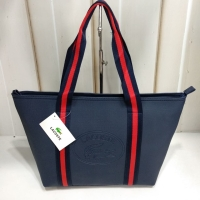 Lacoste classic tote shoulder bag kombinasi