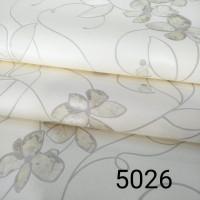 Wallpaper Dinding Motif Bunga Salur Soft