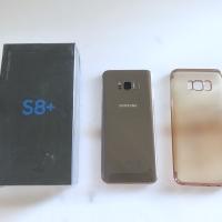 Hp Samsung Galaxy S8+ S8 plus warna gold fullset ada minus dikit Sby