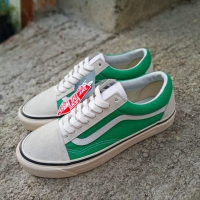 a183bb2632446 Vans 36 DX Anaheim Factory Oldskool Cream Green Vintage