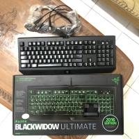 Gaming Keyboard Razer Blackwidow Ultimate Green 2016 Edition