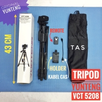 Paket Tripod Yunteng Bluetooth Remote Wireless VCT 5208