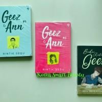 Paket 3 Buku Geez Ann 1 dan 2, Buku Rahasia Geez - Rintik Sedu
