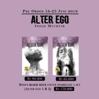 Novel ALTER EGO Sets 1 dan 2 - Indah Muchtar