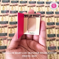 THE BALM MARY LOU MANIZER HIGHLIGHTER TRAVEL SIZE 1.05gr