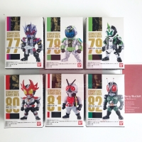 Kamen Rider Converge Vol 14 Set of 6 Complete Bandai Original