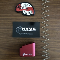 Hyve extended G43 mag. Plus 3. Include spring