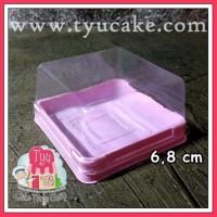 PINK-6,8cm T:4cm+Tutup-CASE MOONCAKE(8)TARO 20'S