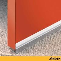 Raven Door Bottom Seal RP 17 White / Seal penutup celah bawah pintu