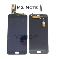 Lcd + Touchscreen Meizu M2 Note Black