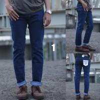 Jeans skinny pria denim termurah
