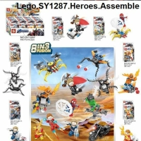 SY 1287 Minifigures Avengers Marvel 8 in 3 Fusion