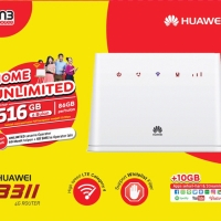 Home Router 4G LTE INDOSAT Huawei B311 Selama 6 Bulan Unlimited FUP