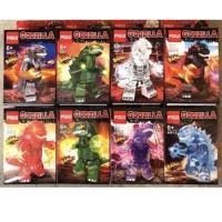 Pogo PG 6001 Minifigures Godzilla set isi 8