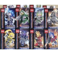 Pogo PG 6002 Minifigures Transformers Set isi 8