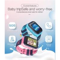 JAM VIDEO CALL 4G VIDEO CALL SMARTWATCH JAM GPS ANAK