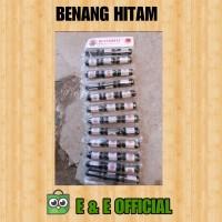 BENANG JAHIT HITAM / BENANG HITAM BUTTERFLY