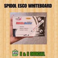 SPIDOL ESCO WHITEBOARD / BLACK / HITAM / SPIDOL GAJAH