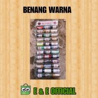 BENANG WARNA / BENANG JAHIT WARNA BUTTERFLY
