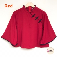 Atasan chongsam murah / qipao pita / cheongsam merah / baju congsam