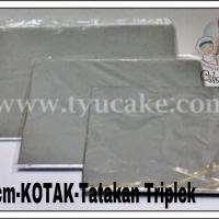 30x30cm-KOTAK-Tatakan Kue Triplek