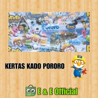 KERTAS KADO PORORO / PENGUIN