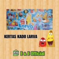 KERTAS KADO LARVA