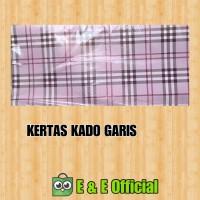 KERTAS KADO GARIS / KOTAK