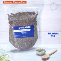 1 Kg Organic Black Chia Seeds Mexico