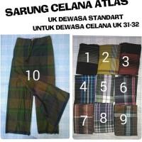 Sarung Celana Atlas Dewasa Standard Celana uk 31-32
