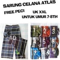 Sarung Celana Atlas Anak Uk XXL Usia 7-8 Tahun