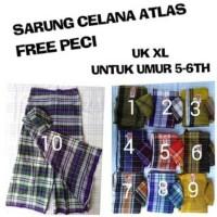 Sarung Celana Atlas Anak Uk XL Usia 5-6Tahun