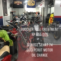 Voucher Full Treatment Motor 150cc