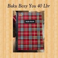 BUKU TULIS BOXY YOU KIKY 40 LEMBAR / BUKU BOXY / BIG BOSS
