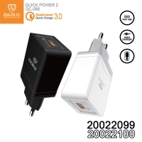Fast Charger Universal Zagbox 3.0 Qualcomm Quick power 2
