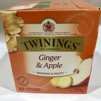 Ori teh twinings /twinings tea of london Ginger and Apple-10 tea bags