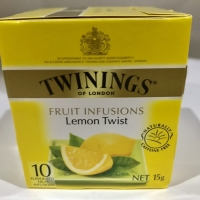 Ori teh twining/ twinings tea of london Lemon Twist -10 tea bags