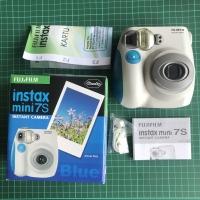 Instax Mini 7S BNIB (Bonus Refill 1pack) - Biru