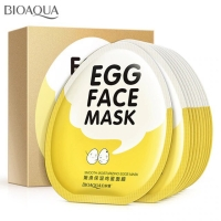 Bioaqua Egg Face Mask Masker Wajah