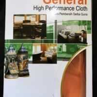 High Performance Cloth 3M Scotch Brite microfibre glass kaca (box)