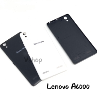 Backdoor Casing Belakang Tutupan Baterai Lenovo A6000 Black/White